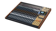 Tascam Model 24 24 Channel Multitrack Recorder with Integrated USB Audio Interface and Analog Mixer