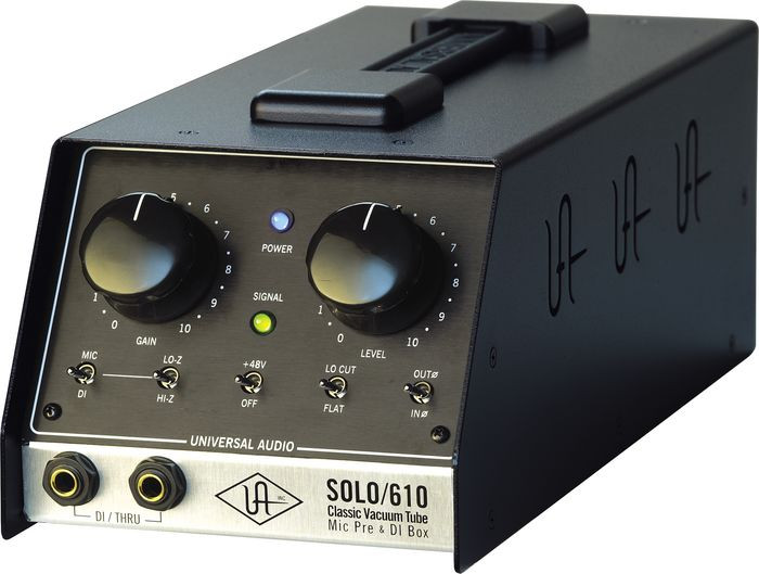universal audio ua s610 solo 610 classic vacuum tube microphone