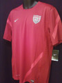 USA Red Size Adult L Player Edition Pregame Training Jersey with Side Vents and Reinforcement Strips