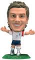 Beckham 2005 2006 2007 England Microstars England Away Figure With Green Base