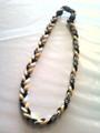 Black, White & Yellow O-Nits Titanium Necklace