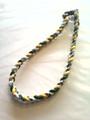 Green, White & Yellow O-Nits Titanium Necklace