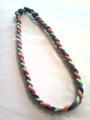 Purple, Lime & Orange Titanium Necklace