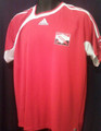 Trinidad & Tobago 2006 2007 Home Red Size Adult L Jersey