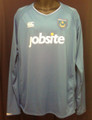 Portsmouth FC 2009 2010 Long Sleeve Classic Adult XXL Home Jersey
