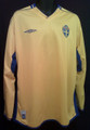 Sweden Classic 2004 XL Long Sleeve Home Jersey