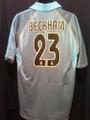 Beckham Real Madrid 2003 2004 Rare Vintage XXL Silver Third Jersey