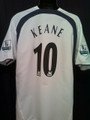 Keane Classic Tottenham Hotspurs 2006 2007 XL Home Jersey With Felt EPL Patches