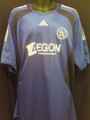 Ajax Vintage 2008 2009 XXL Royal Blue Away Jersey