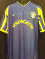 Leeds United Vintage 2001 2003 Away L/XL Jersey