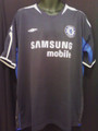 Chelsea Classic Rare Pregame Navy & Royal Training Size XL Jersey