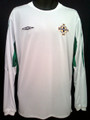 Northern Ireland 2004 2005 Away Long Sleeve Adult XL Jersey