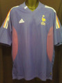 France 2002 2003 Home Adult XL Jersey