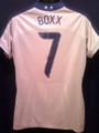 Boxx Rare USA 2007 World Cup Gold Jersey Size Women's Adult Large 12 14