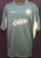 Celtic 2004 2005 Green And Silver Away XL Jersey