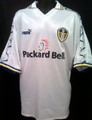 Leeds United Vintage 1998 2000 Away XL Jersey