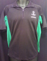 Champions League Black And Green Adult Large Polo Shirt
