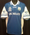 Laois Azzurri Bank of Ireland Football Championship  Adult Large GAA Gaelic Football Jersey