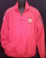 MANCHESTER UNITED CLASSIC RED ADULT LARGE WARM UP JACKET COAT