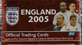 PACK OF ENGLAND 2005 CARDS