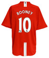 Rooney Manchester United 2007 2008 Size Adult XL Home Jersey