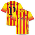 Neymar Barcelona 2013 2014 Away Jersey Size Adult Large