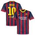 Messi Barcelona 2013 2014 Home Size Adult L Home Jersey