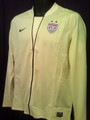 Hope Solo Style USA Womens 2011 2012 World Cup Yellow Three Quarter Sleeve Size Adult L Jersey