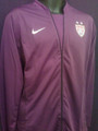 Hope Solo Style USA Womens World Cup 2011 2012 Adult XL Purple Long Sleeve Jersey