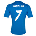 Ronaldo Real Madrid 2013 2014 Blue Away Jerseys