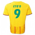 Eto'o Cameroun Cameroon 2010 World Cup Size Adult L Away Jersey