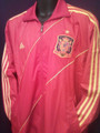 SPAIN WARM UP JACKET SIZE ADULT LARGE