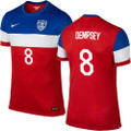 Dempsey USA 2014 World Cup Player Edition Away Jersey Size L