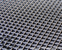 """Stainless Steel Mesh Grille T316 Qualitynch openin-Lock Crimp Square Design, 16 Gauge, 4 square holes per inch, apx .182"""" ig per hole 6""""X36"""" total size #RTP-M002-1"""