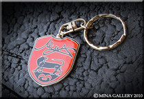 "Jaguar "" Mina  Gallery "" High Line Metal Key Chain"