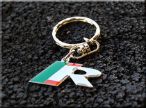"Jaguar "" R "" Performance Metal Key Chain"