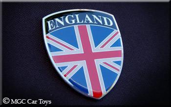Amazing Uk Great Britain Real Car Auto Metal Automotive Fender