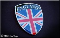 GB UK United Kingdom England Real Car Metal Fender Grille Emblem Badge Decal