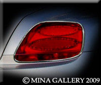 Bentley Flying Spur Chrome Taillight Surround Upgrades