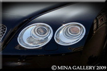 Bentley GT & Gtc Chrome Headlight Surround Upgrades