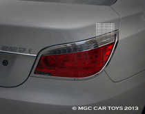 2004-2009 BMW 5 Series MGC Sport Taillight Chrome Trim Surround