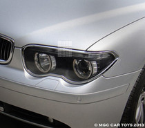 2002-2005 BMW 7 Series E65-E68 MGC Collection  Headlight Chrome Trim Surround