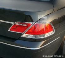 2006-2009 BMW 7 Series E65-E68  MGC Collection  Taillight Chrome Trim Surround