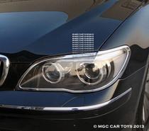 2006-2009 BMW 7 Series E65-E68  MGC Headlight Chrome Trim Surround