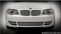 BMW 128 Mesh Grille Grill Top And Bottom Combination