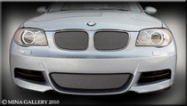 BMW 135 Mesh Grille Grill Top And Bottom Combination