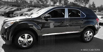 2010-Up Chevy Equinox 6Piece Stainless Steel Mirror Chrome Pillar Posts Set