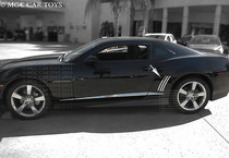 2010-2012 Chevy Camaro 6Pc Set Stainless Steel Chrome Finish  Vent Gills Trim