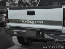 "Chevy Silverado 99-06 Chevy Tailgate ""Silverado"" 5.5"" Stainless Steel Chrome Finish"