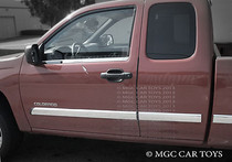 Chevy Canyon/Colorado Extended Cab 2004-2010  2Pc StainlessSteel Chrome Finish Window Sill